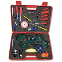 Комплект инструменти за стъкло в куфар